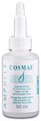 Cosmal Ampulle: Die Cosmal-Ampulle (Thiocyanat) baut zu dem die Salzbrücken im Haar auf. Dadurch erhöht sich die Sprungkraft der Haare deutlich.